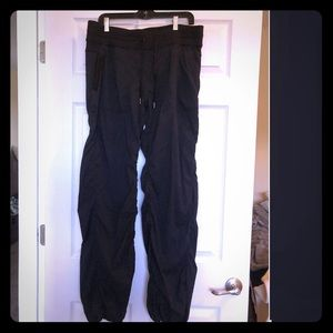 Lululemon Workout pants with drawstrings